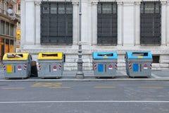 Recyclerende bakken Royalty-vrije Stock Foto