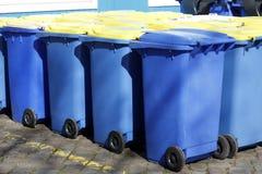 Recyclerende Bakken, Bremen, Duitsland Royalty-vrije Stock Foto