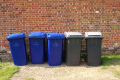 Recyclerende bakken Recycleer bakken Stock Fotografie