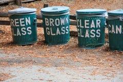 Recyclerende Blikken Royalty-vrije Stock Foto