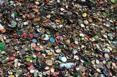 Recyclerende deksels Stock Foto's