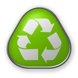 Recyclerende knoop Royalty-vrije Stock Afbeeldingen