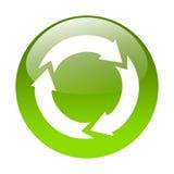 Recyclerende knoop Stock Fotografie