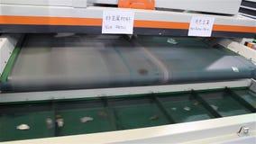 Recyclerende metaalmachine stock footage