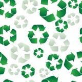 Recyclerende Naadloze Achtergrond Royalty-vrije Stock Foto's