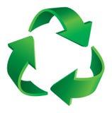 Recyclerende pijlen Royalty-vrije Stock Afbeeldingen