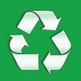 Recyclerende pijlen Stock Foto's