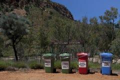 Recyclerende post Stock Fotografie