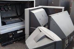 Recyclerende projectietelevisies stock afbeeldingen