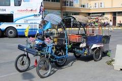 Recyclertransporter Arkivfoton