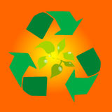 Recycling Royalty-vrije Stock Afbeelding