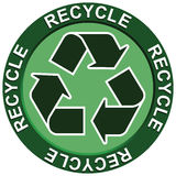 Recycling. A fully layered recycling portraying environmental issues Vector Illustration