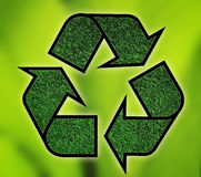 recycling royalty-vrije illustratie