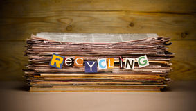 recycling royalty-vrije stock foto