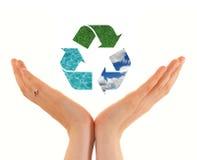 recycling vector illustratie
