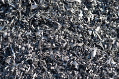 For the recycling of aluminum Stock Image