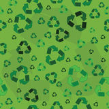 Recycling background Stock Photo