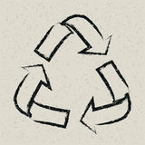 Recycling background Royalty Free Stock Photography