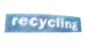 Recycling Banner Stock Photo