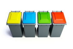 Recycling basket Stock Images