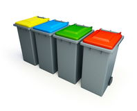 Recycling basket Royalty Free Stock Photography