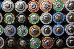 Recycling batteries Royalty Free Stock Photo