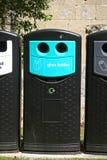 Recycling bin Stock Photo