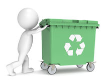 Recycling Bin. Stock Images