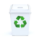 Recycling Bin Royalty Free Stock Image
