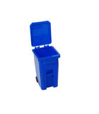 Recycling bin going green Royalty Free Stock Photos