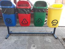 recycling bin stock photos