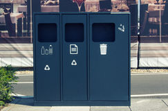 Recycling bin Royalty Free Stock Photography