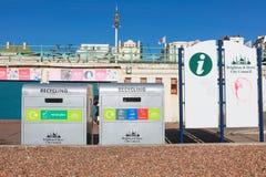 Recycling bins Stock Photos
