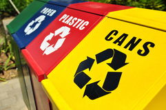 Free Recycling Bins Stock Images - 7867484