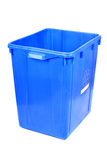 Recycling blue bin Royalty Free Stock Image