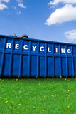 Recycling business, container and ecology Stock Images