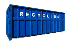 Recycling business, container and ecology isolated Stock Photography