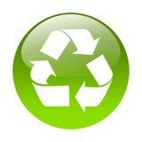 Recycling button Stock Photos