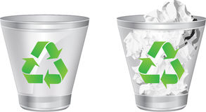Recycling Can Royalty Free Stock Images