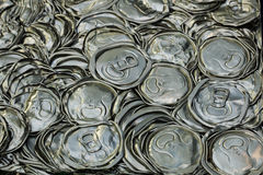 recycling cans Royalty Free Stock Images