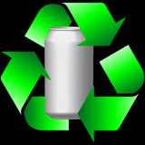 Recycling cans Royalty Free Stock Photography