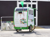 Recycling car - Expo 2015 Royalty Free Stock Images