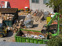 Recycling center Royalty Free Stock Photos