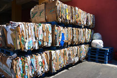 Recycling center in Los Angeles Stock Images