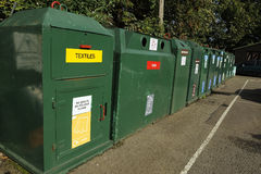 Recycling centre Royalty Free Stock Photo