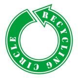 Recycling circle Royalty Free Stock Image