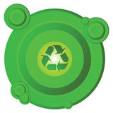 Recycling circle Royalty Free Stock Photography