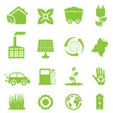 Recycling and clean energy royalty free illustration