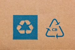Recycling Code. Royalty Free Stock Images