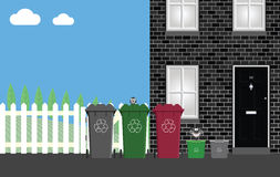 Recycling collection Stock Photography